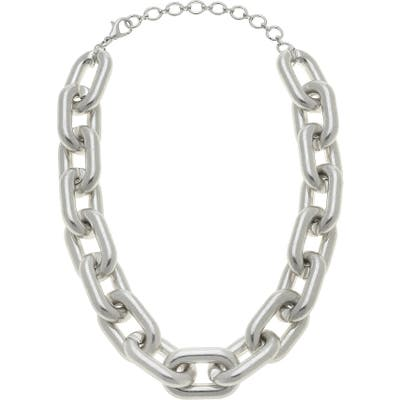 Canvas Jewelry Avril Statement Chain Necklace