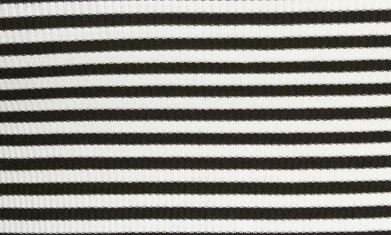 BLACK/WHITE JAMIE STRIPE