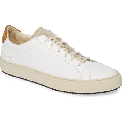 Common Projects Retro Low Special Edition Sneaker, White