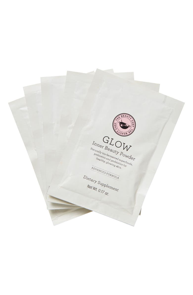 THE BEAUTY CHEF Glow Inner Beauty Powder Sachets, Main, color, NO COLOR