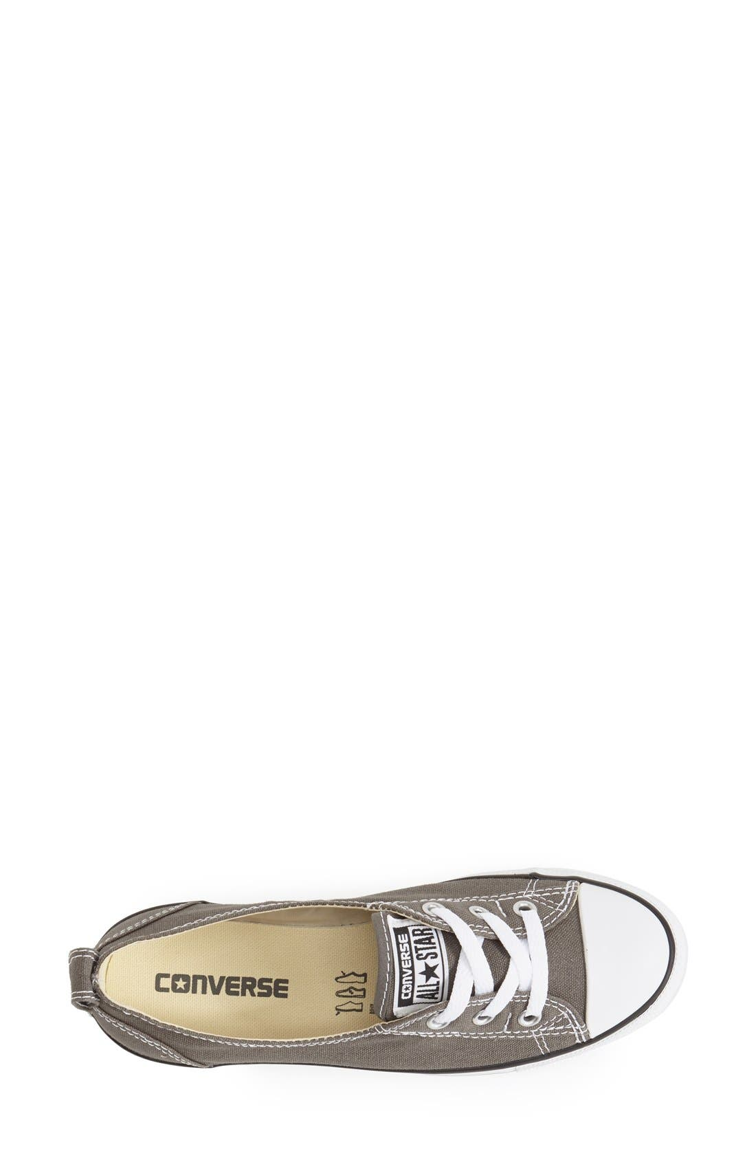 ,                             Chuck Taylor<sup>®</sup> All Star<sup>®</sup> Ballet Canvas Sneaker,                             Alternate thumbnail 12, color,                             020