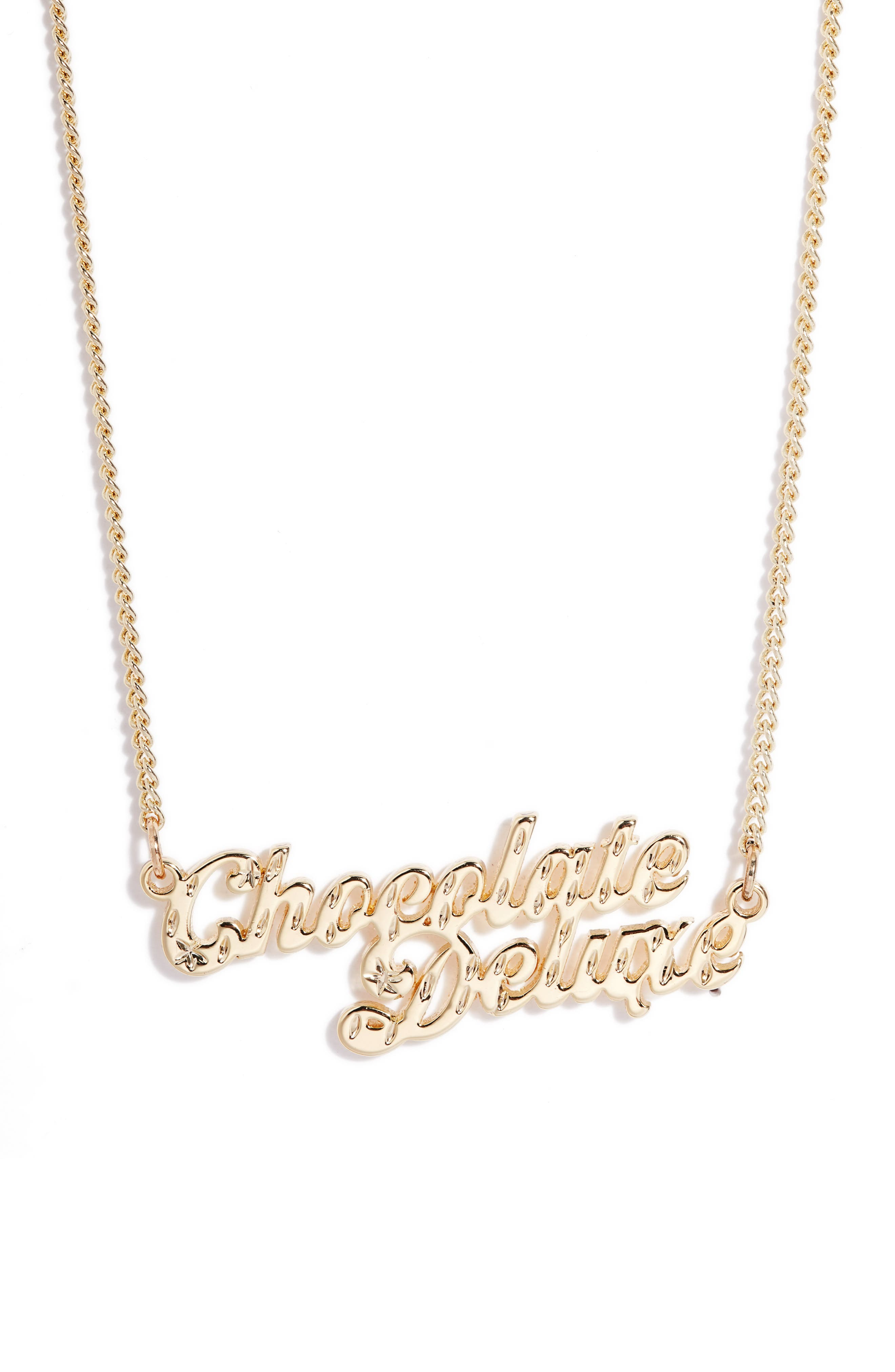 Chocolate Deluxe Necklace