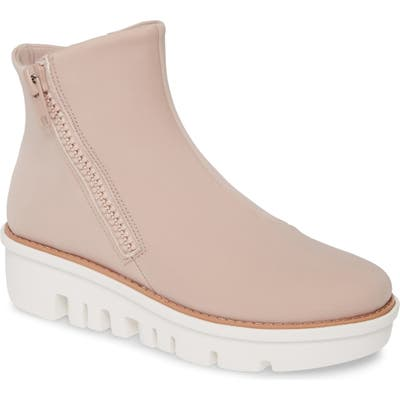 Fitflop Chunky Zip Bootie, Pink