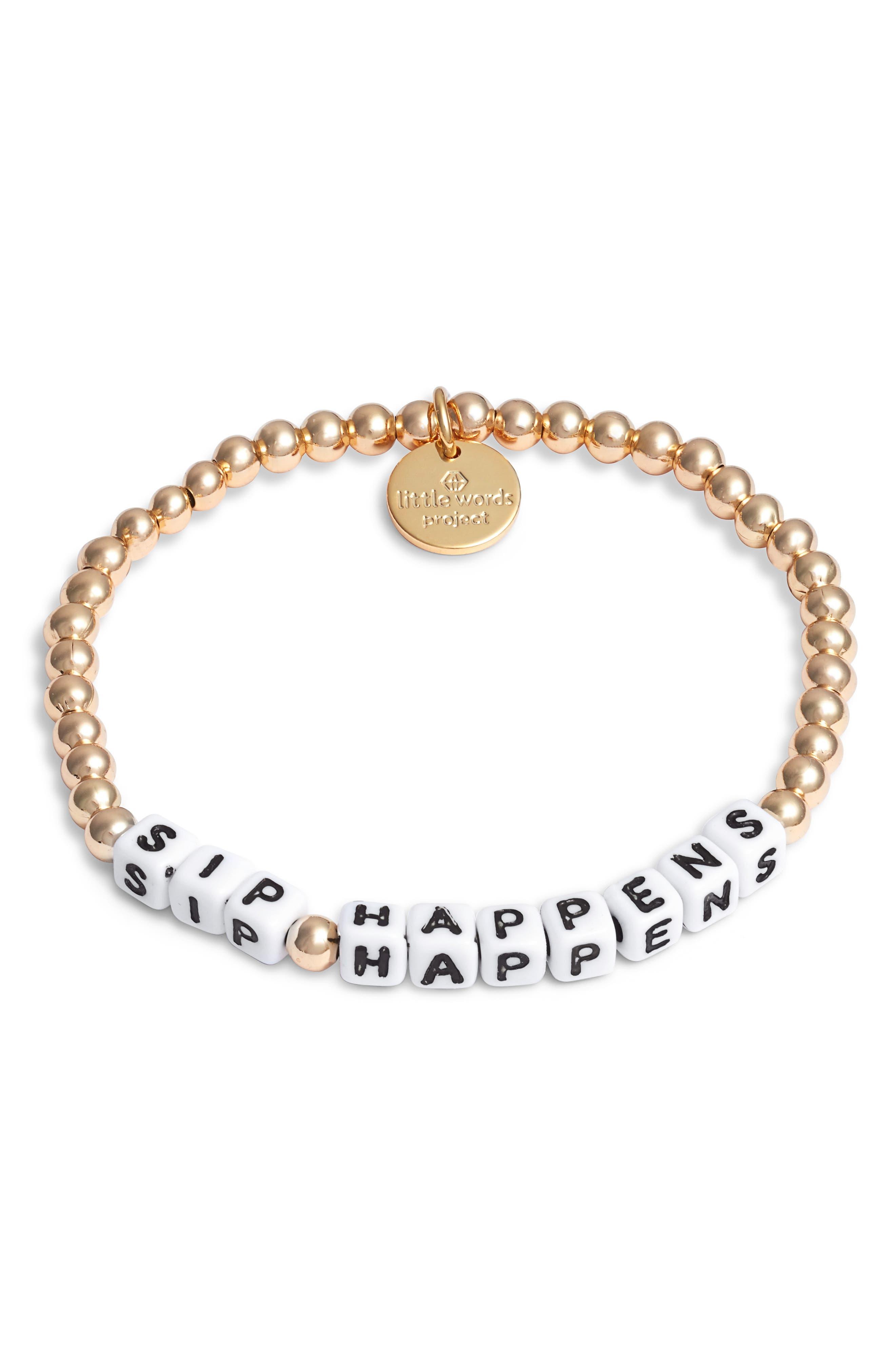 Sip Happens Bracelet