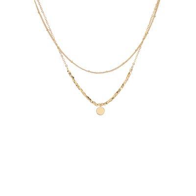 Panacea Layered Disc Necklace