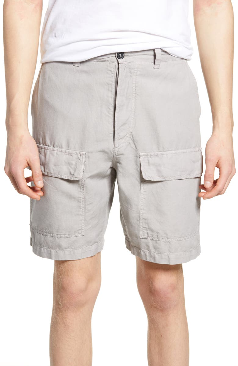 FRENCH CONNECTION Cargo Shorts, Main, color, PERLA