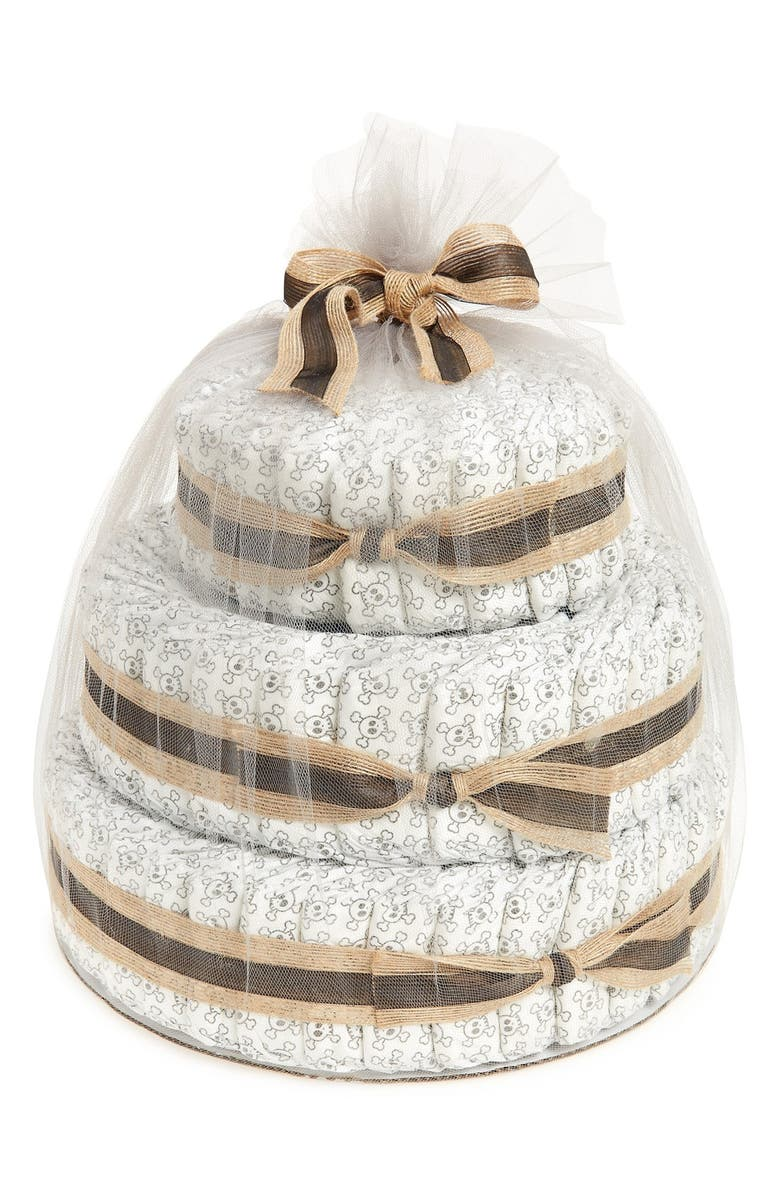 THE HONEST COMPANY Large Diaper Cake & Full-Size Essentials Set, Main, color, 200