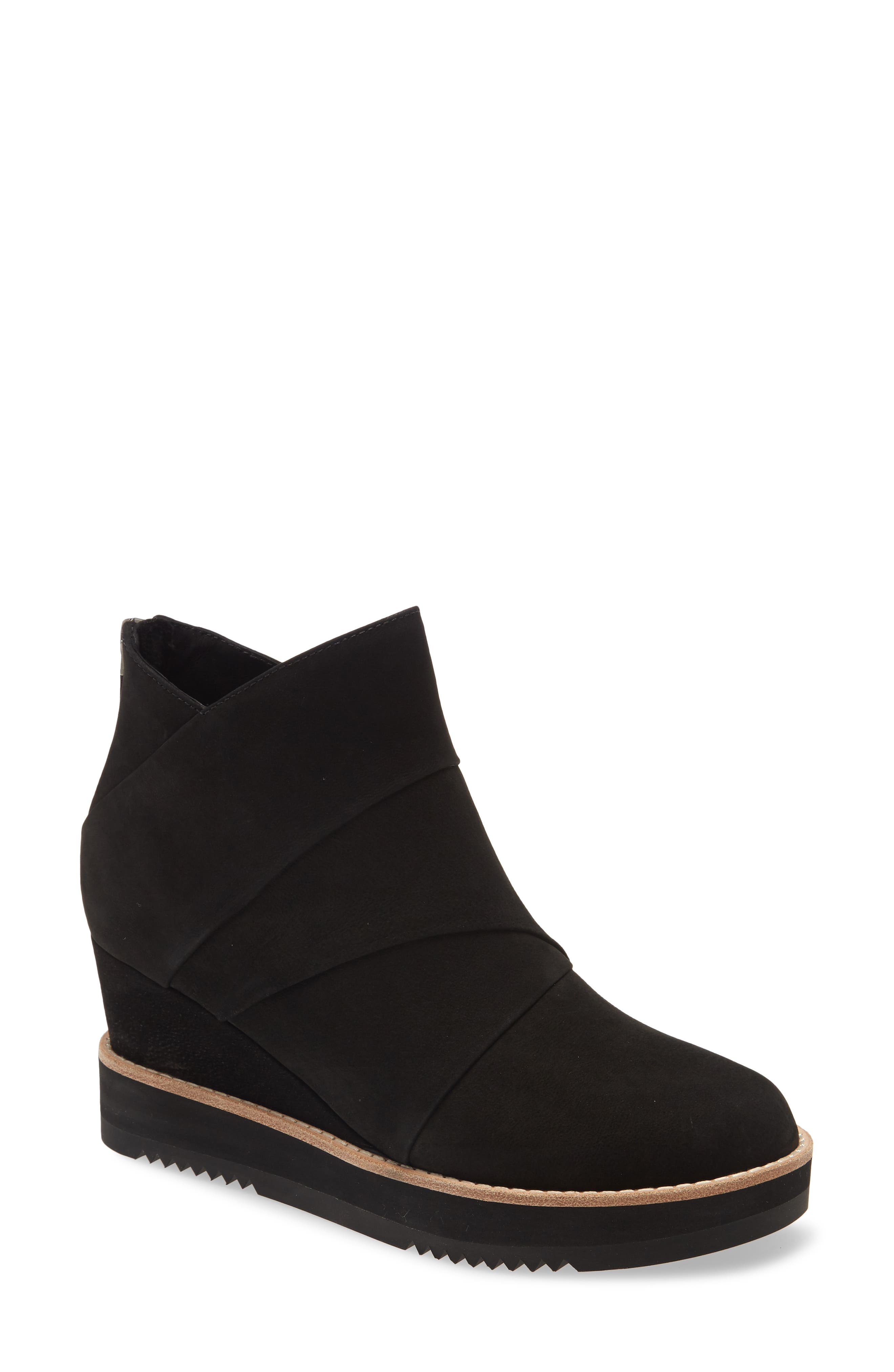 Image of Eileen Fisher Clapton Wedge Bootie