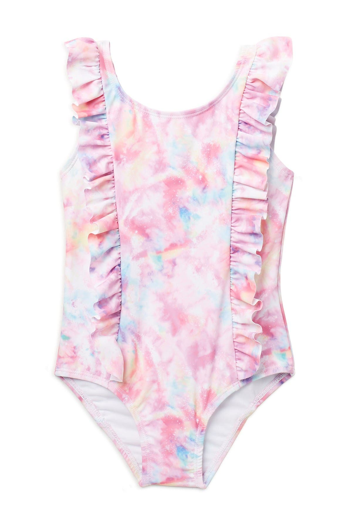 Image of Andy & Evan Ruffle One-Piece Swimsuit