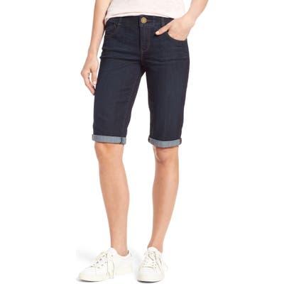 Wit & Wisdom Ab-Solution Denim Bermuda Shorts, Blue (Regular & Petite) (Nordstrom Exclusive)