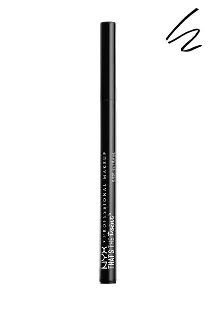Image of NYX COSMETICS That's the Point Hella Fine Eyeliner - Black