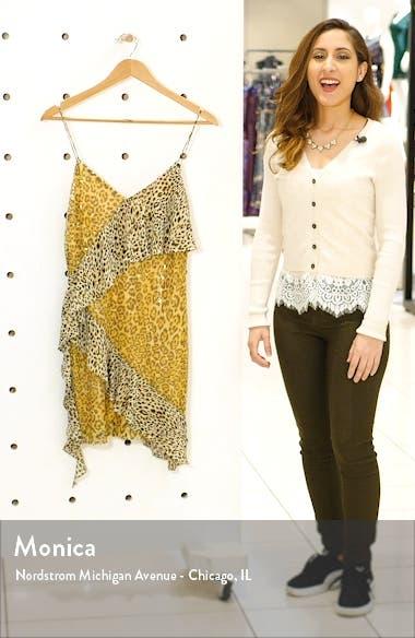 Spangle Leopard Pattern Minidress, sales video thumbnail