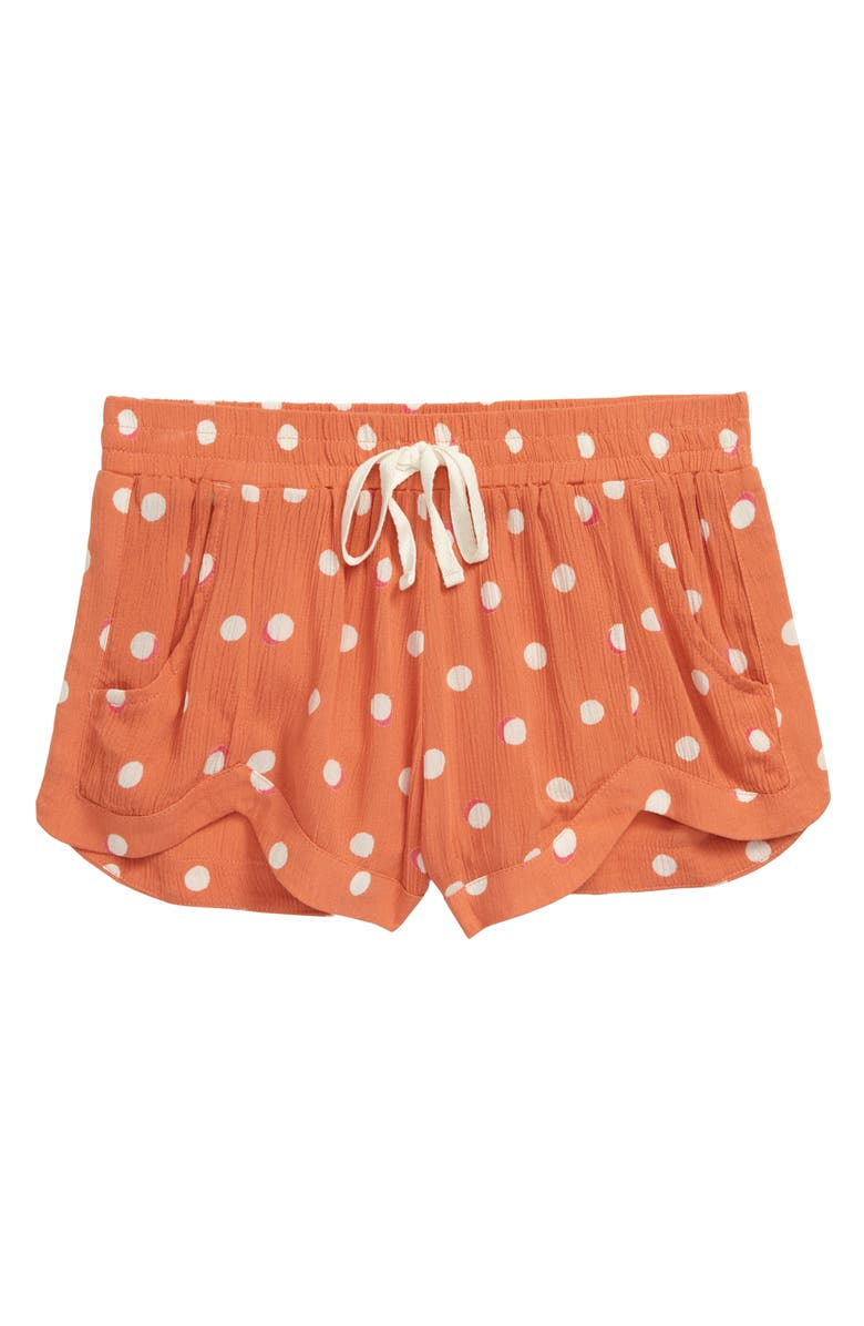 BILLABONG Mad for You Shorts, Main, color, SUNSET ORANGE