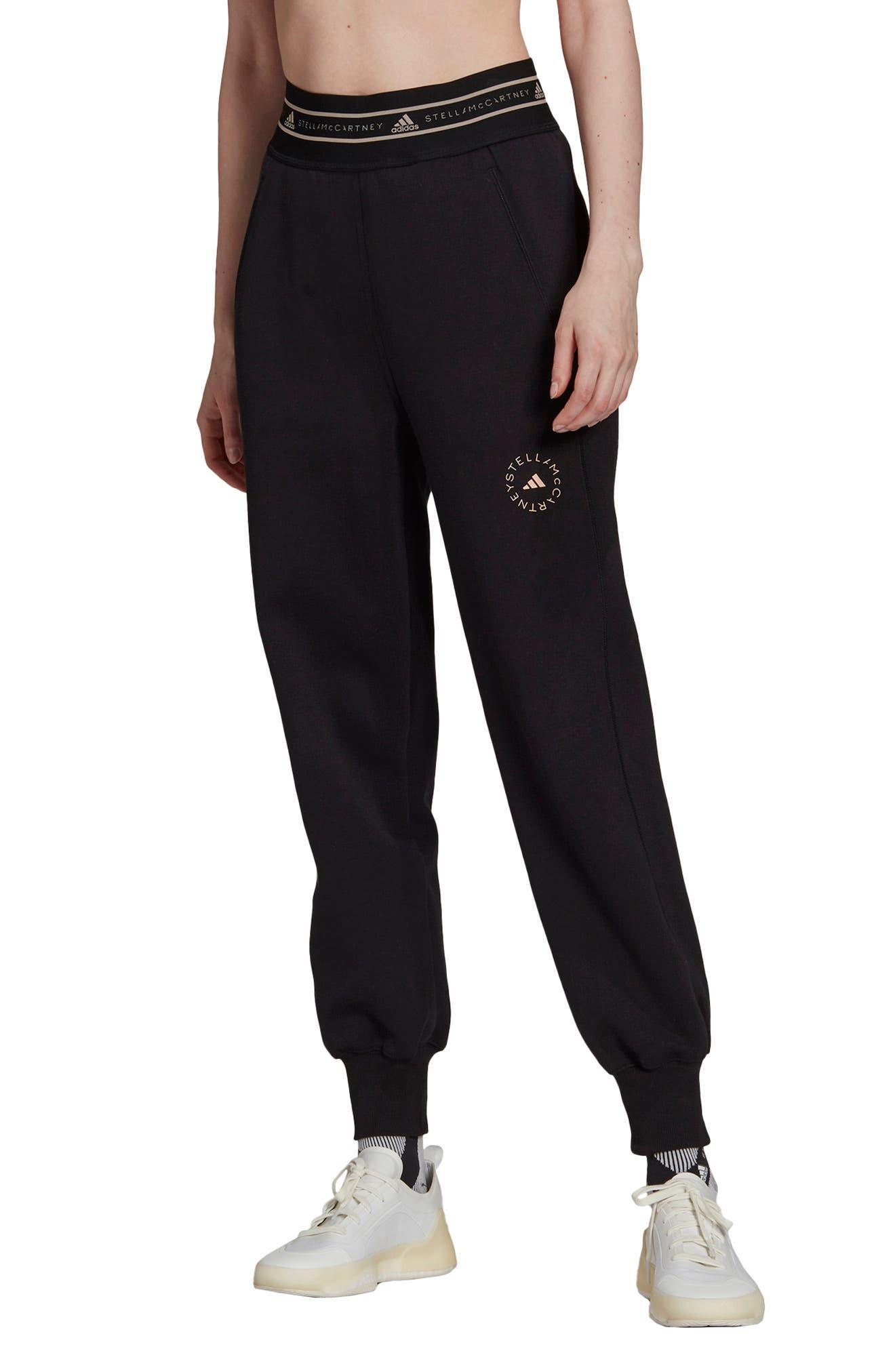 Organic Cotton Blend Double Knit Sweatpants