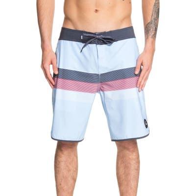 Quiksilver Seasons Board Shorts, Blue
