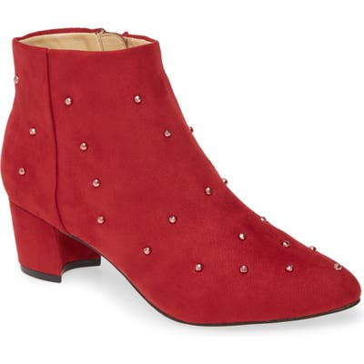 Katy Perry The Aurora Embellished Bootie, Burgundy