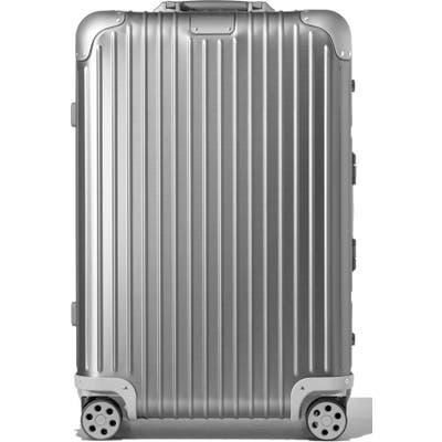 Rimowa Original Check-In Medium 26-Inch Packing Case - Metallic
