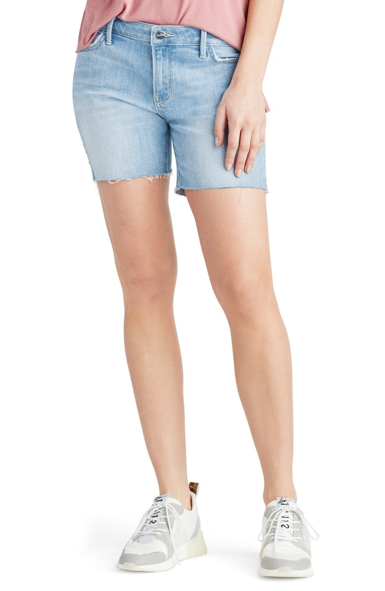 SAM EDELMAN Derby Cutoff Denim Shorts, Main, color, KEMMLEY