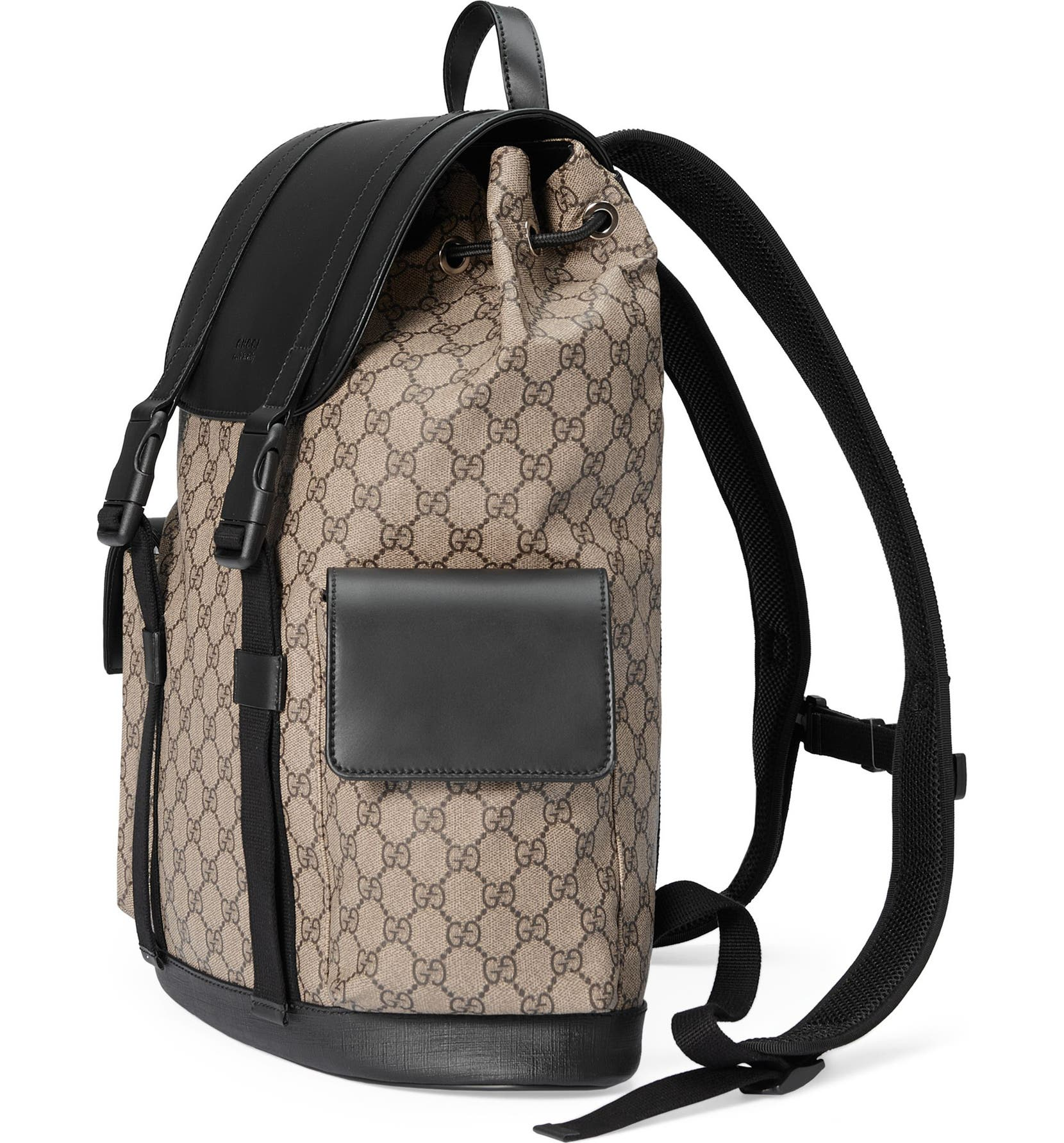 afb34493fd2814 Gucci Eden Flap Top Canvas Backpack | Nordstrom