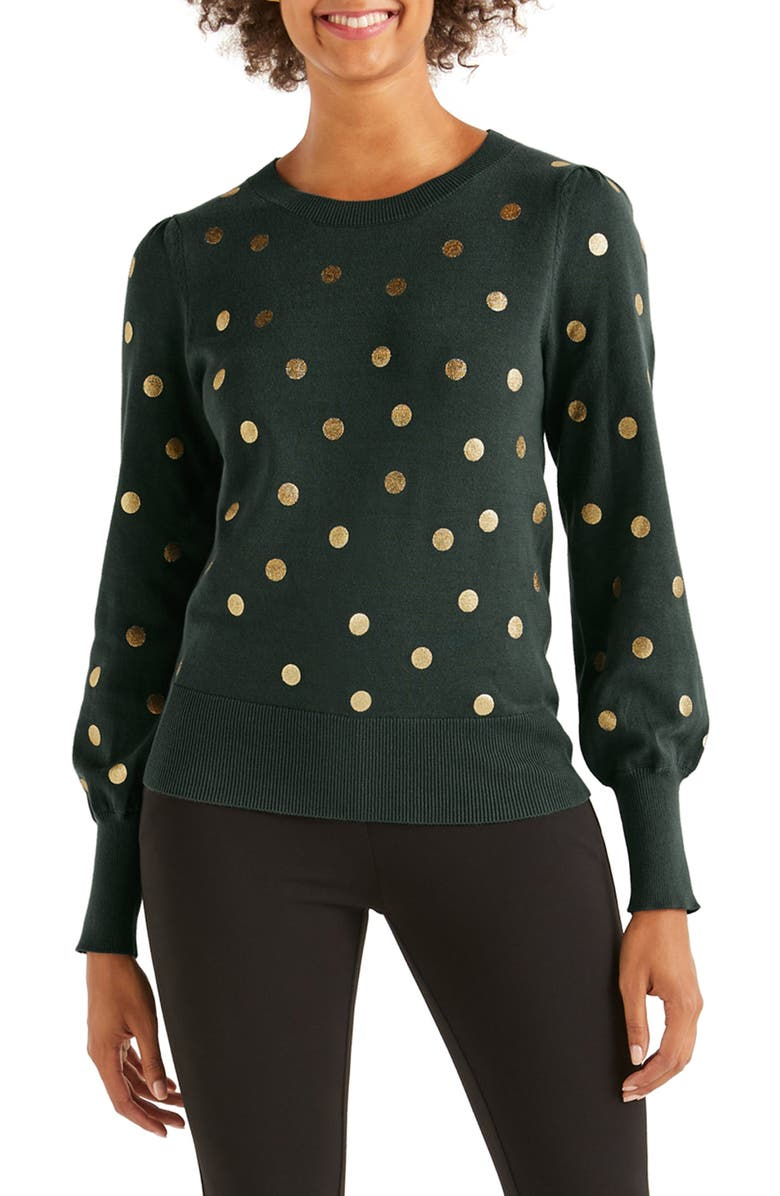 Antonia Crewneck Sweater by Boden