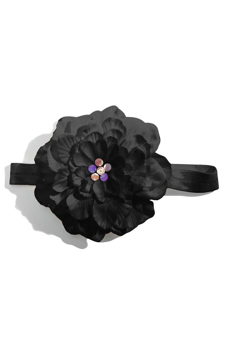 PLH BOWS Flower Headband, Main, color, 010