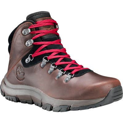 Timberland Garrison Field Waterproof Hiking Boot, Brown