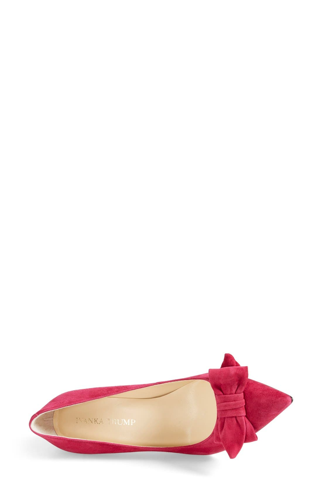 ,                             'Benny' Pointy Toe Bow Pump,                             Alternate thumbnail 15, color,                             661