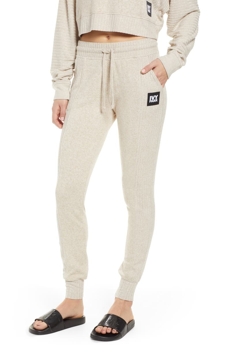 IVY PARK<SUP>®</SUP> Contrast Rib Lounge Jogger Pants, Main, color, 250