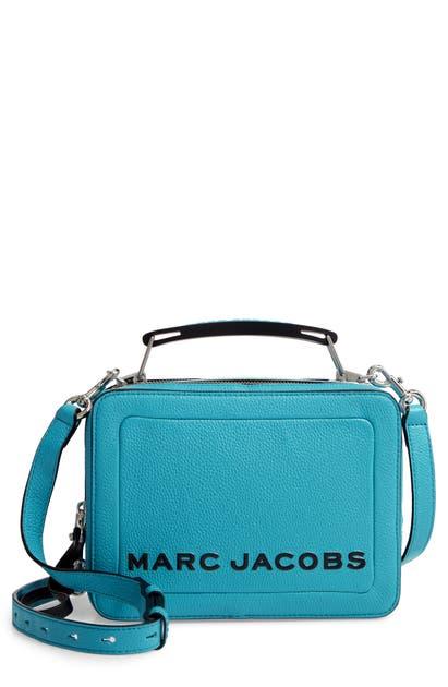Marc Jacobs Bags THE BOX 23 LEATHER HANDBAG - BLUE