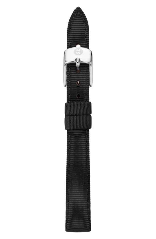 Michele Watches 14MM GROSGRAIN WATCH STRAP