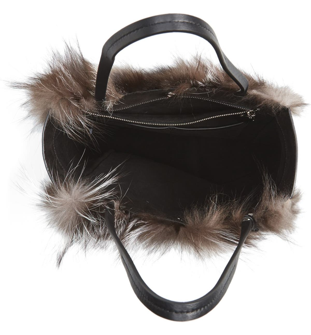 f297526013dc Michael Kors Large Eleanor Genuine Fox Fur Tote   Nordstrom