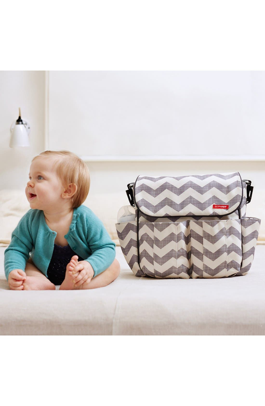 ,                             'Duo' Diaper Bag,                             Alternate thumbnail 22, color,                             100