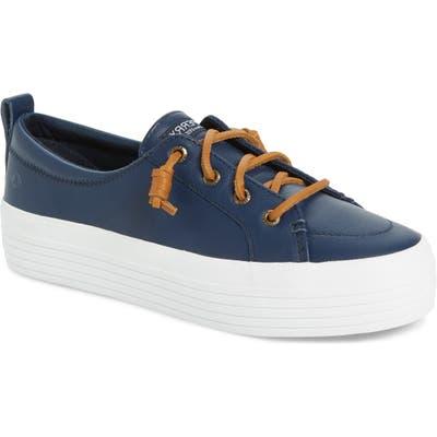 Sperry Crest Vibe Platform Sneaker, Blue