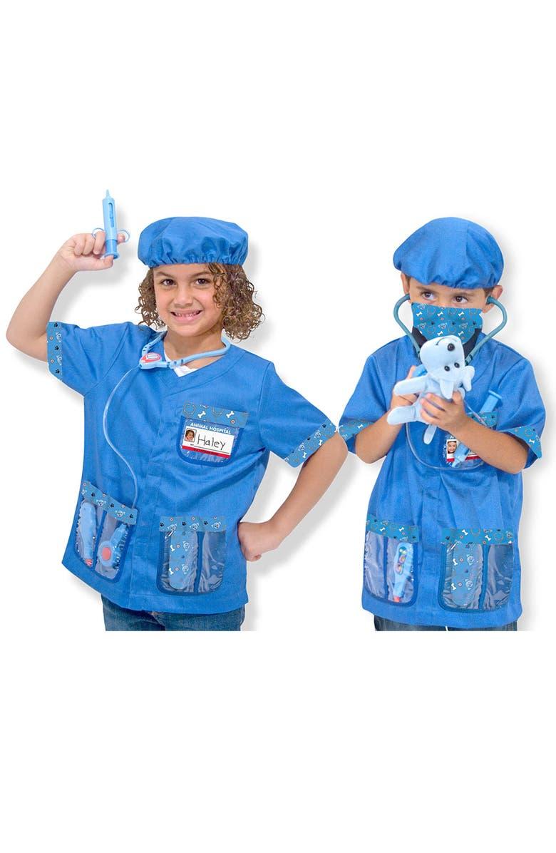 MELISSA & DOUG 'Veterinarian' Costume, Main, color, VARIOUS