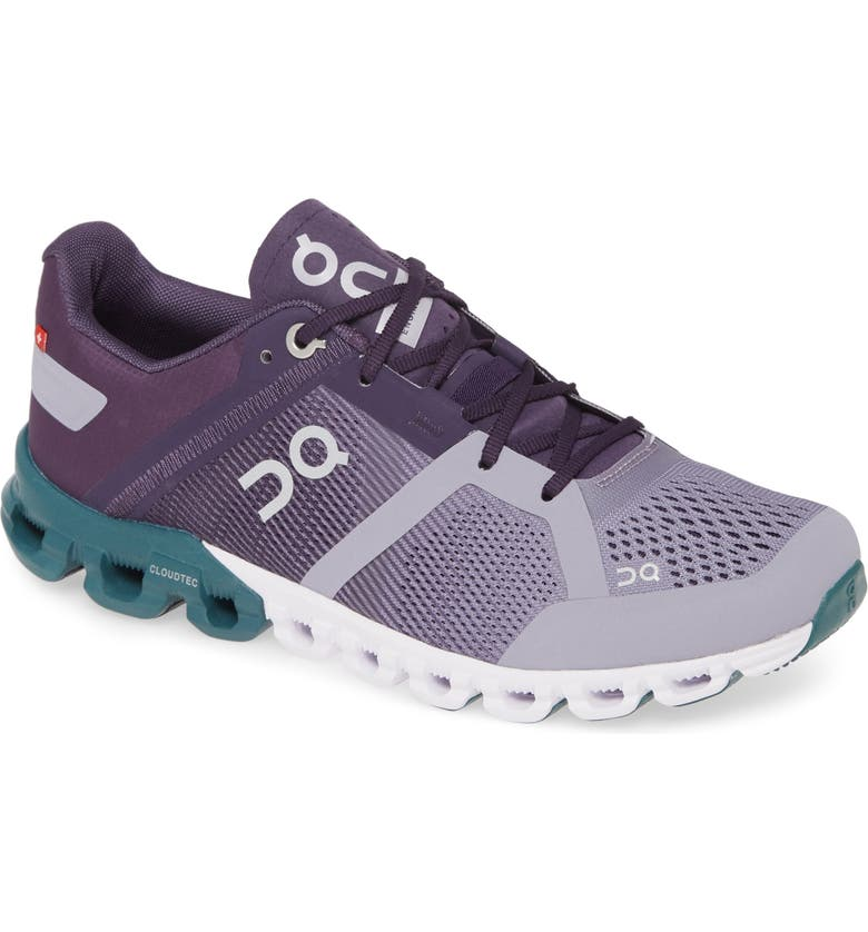 ON Cloudflow Running Shoe, Main, color, VIOLET/ TIDE