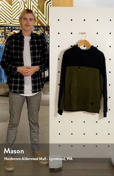 Men's Mifflin Colorblock Hooded Sweatshirt, sales video thumbnail