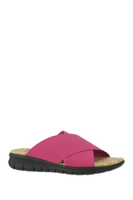 Image of RON WHITE Eres Cork Crisscross Sandal