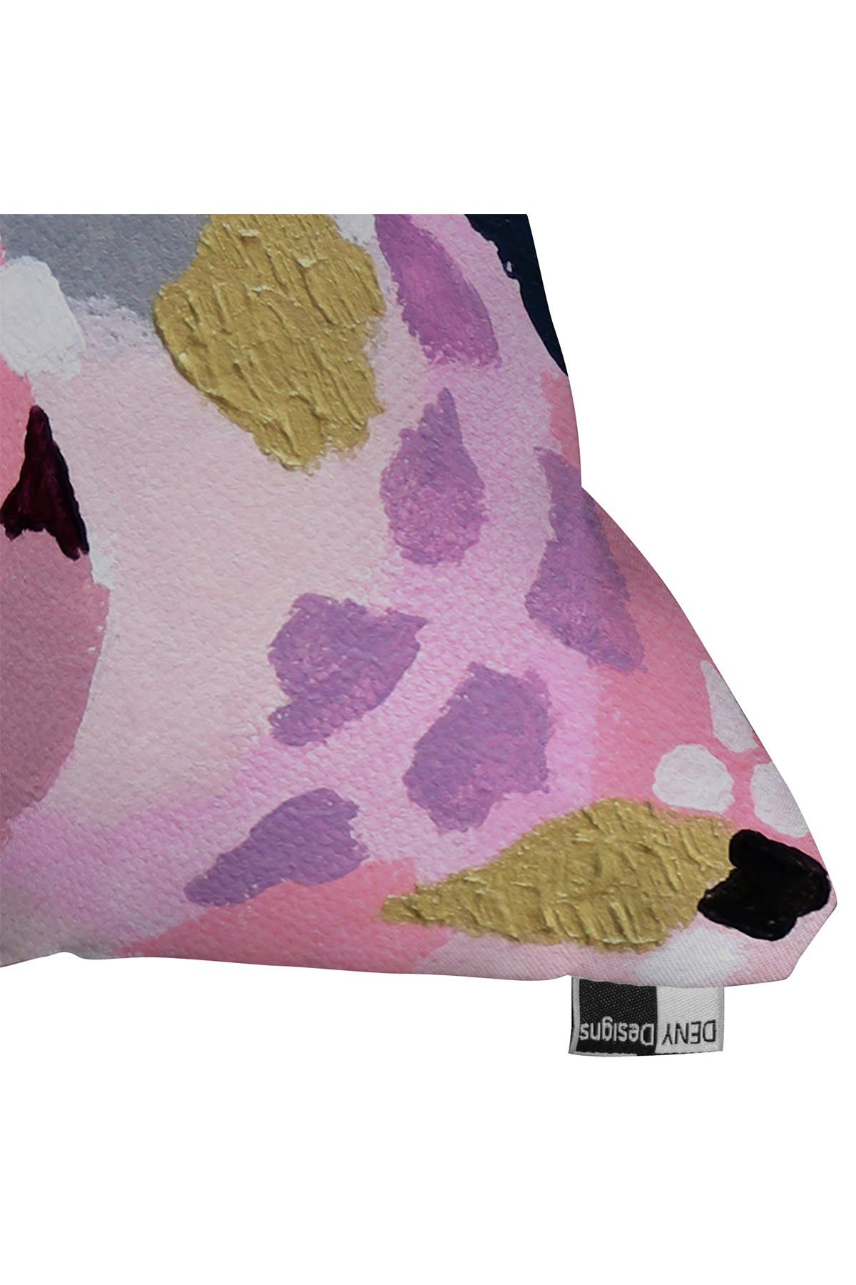Image of Deny Designs Laura Fedorowicz Pink Cloud Square Throw Pillow