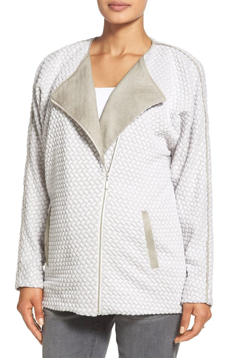 TART MATERNITY 'Leanne' Jacket, Main, color, TAUPE COMBO