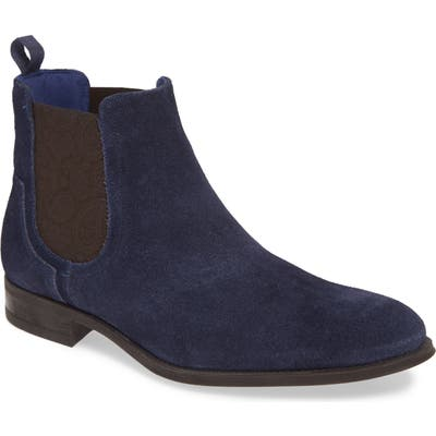 Ted Baker London Travics Chelsea Boot- Blue