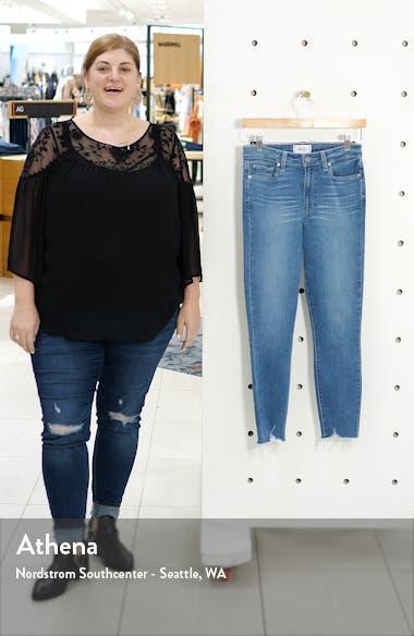 Transcend Vintage - Margot Crop Skinny Jeans, sales video thumbnail