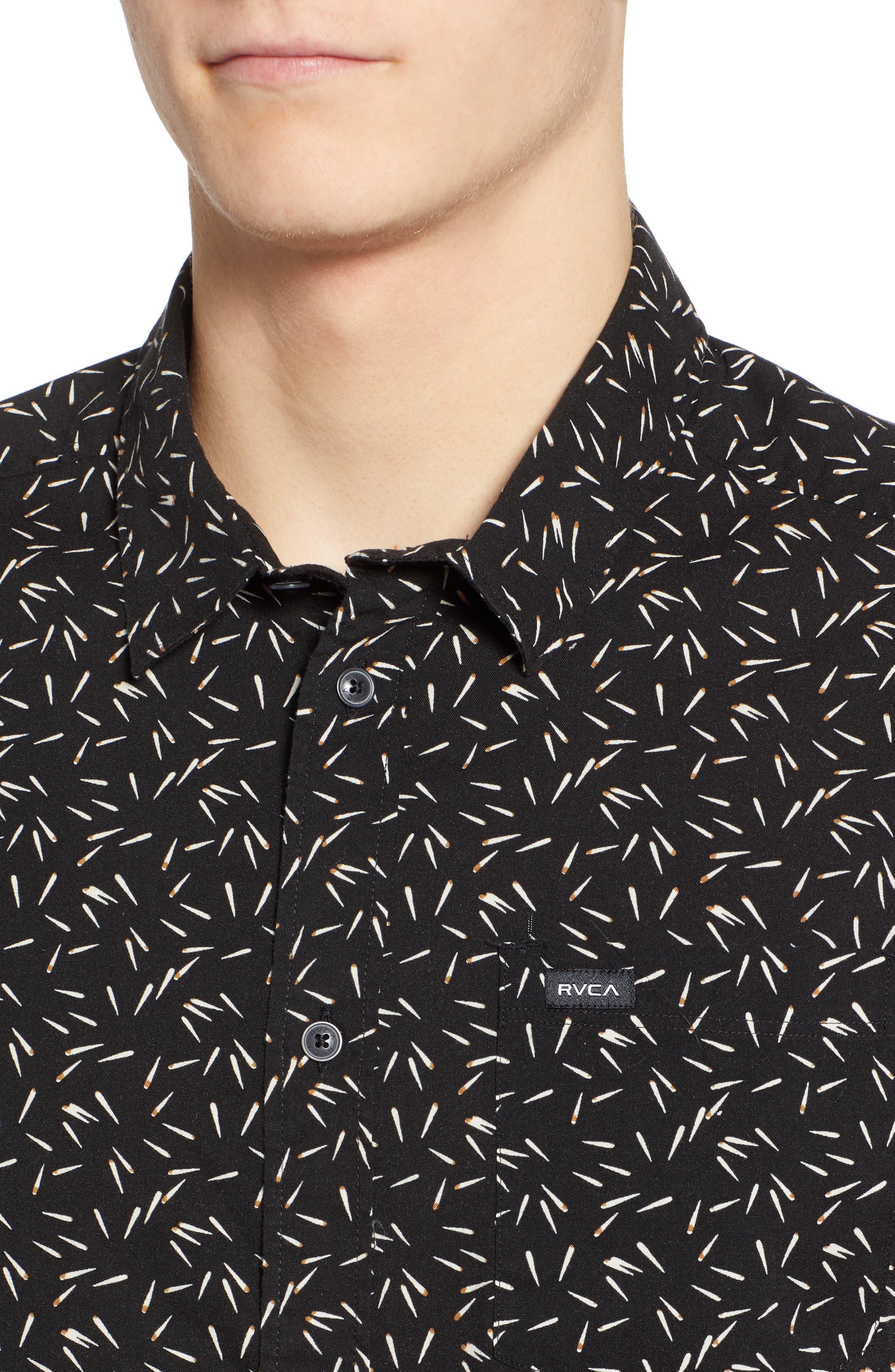 ,                             Pins & Needles Slim Fit Woven Shirt,                             Alternate thumbnail 2, color,                             020
