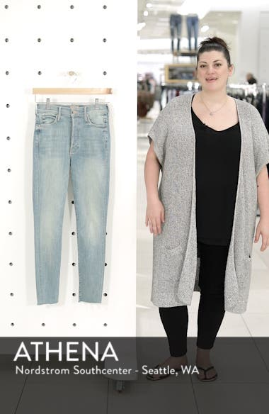The Stunner Frayed Ankle Skinny Jeans, sales video thumbnail