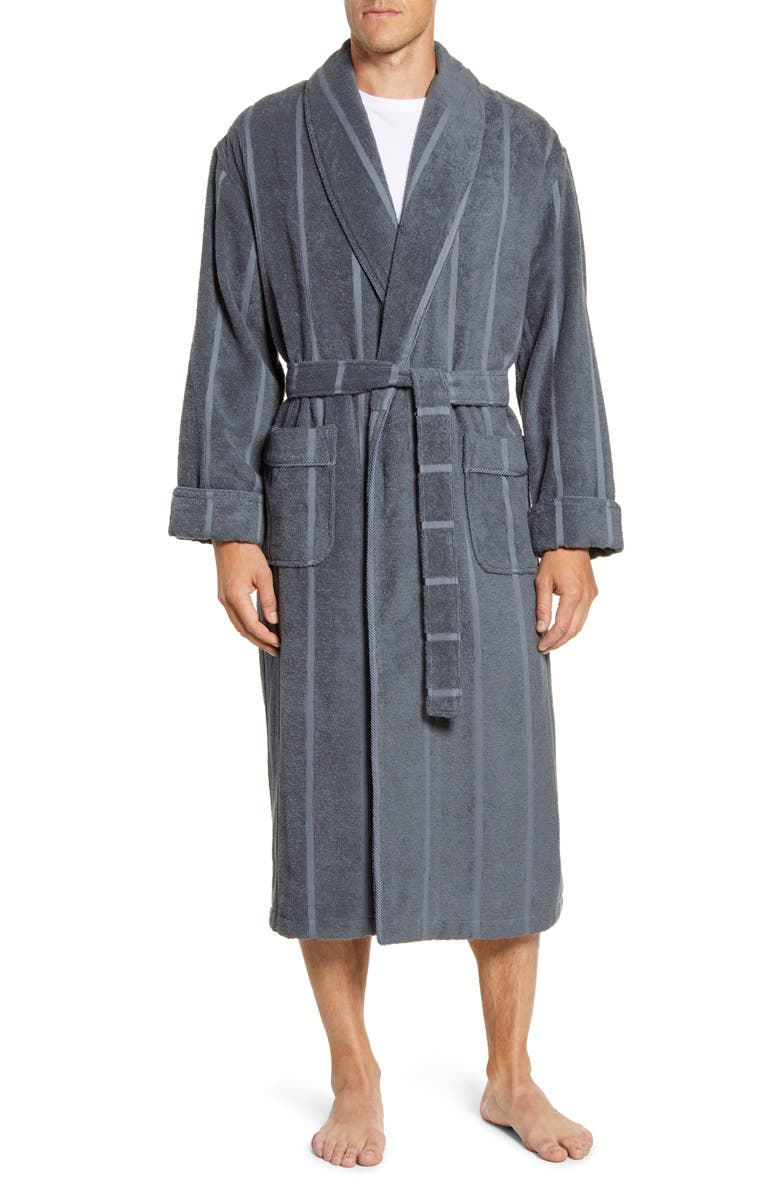MAJESTIC INTERNATIONAL Ultra Lux Robe, Main, color, CHARCOAL