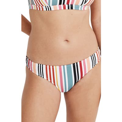 Plus Size Madewell Second Wave Hipster Bikini Bottoms, None