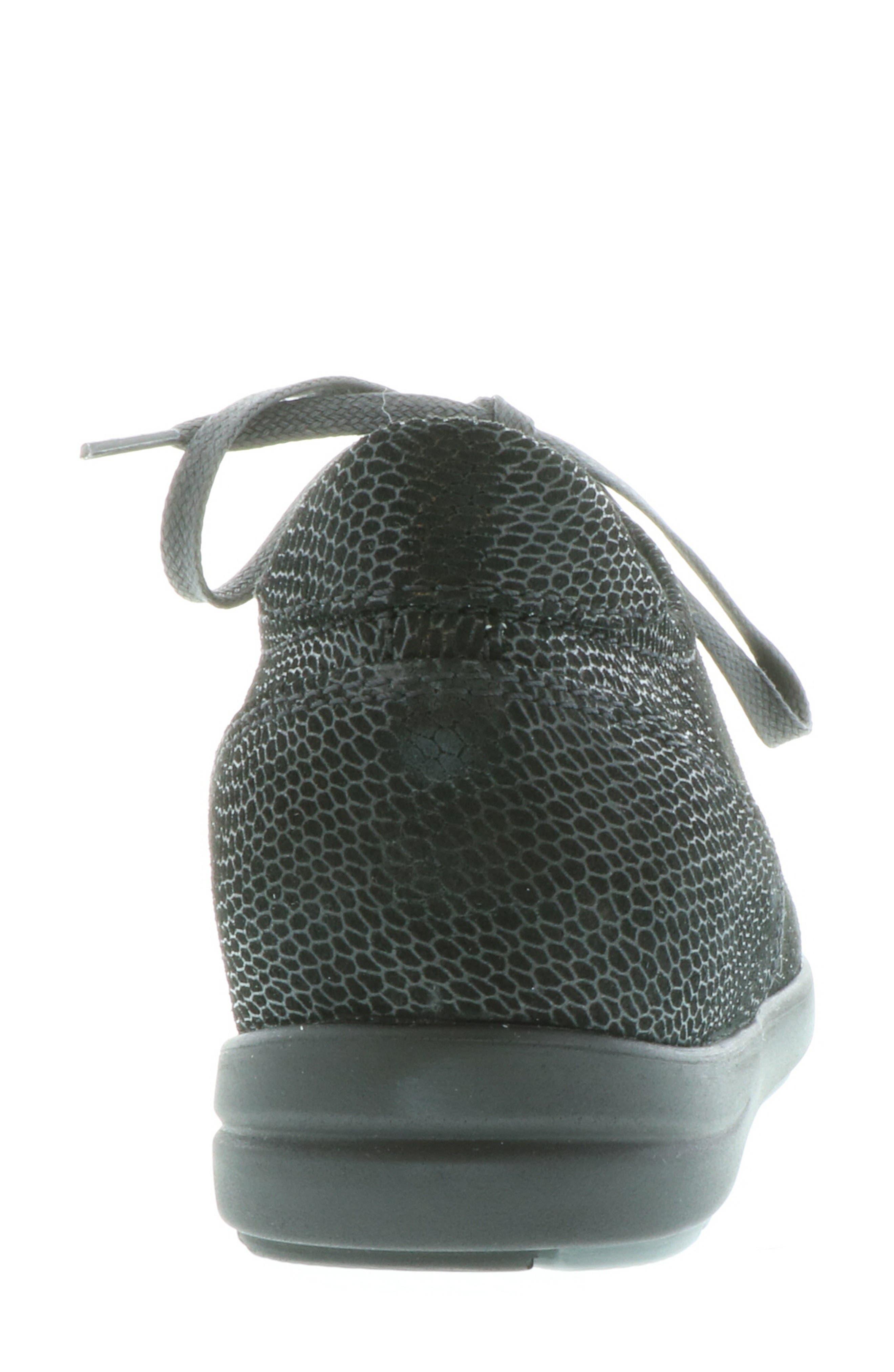 ,                             Kinetic Sneaker,                             Alternate thumbnail 7, color,                             BLACK NUBUCK LEATHER