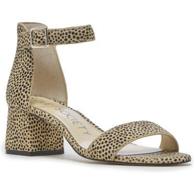 Sole Society Salena Ankle Strap Sandal, Black