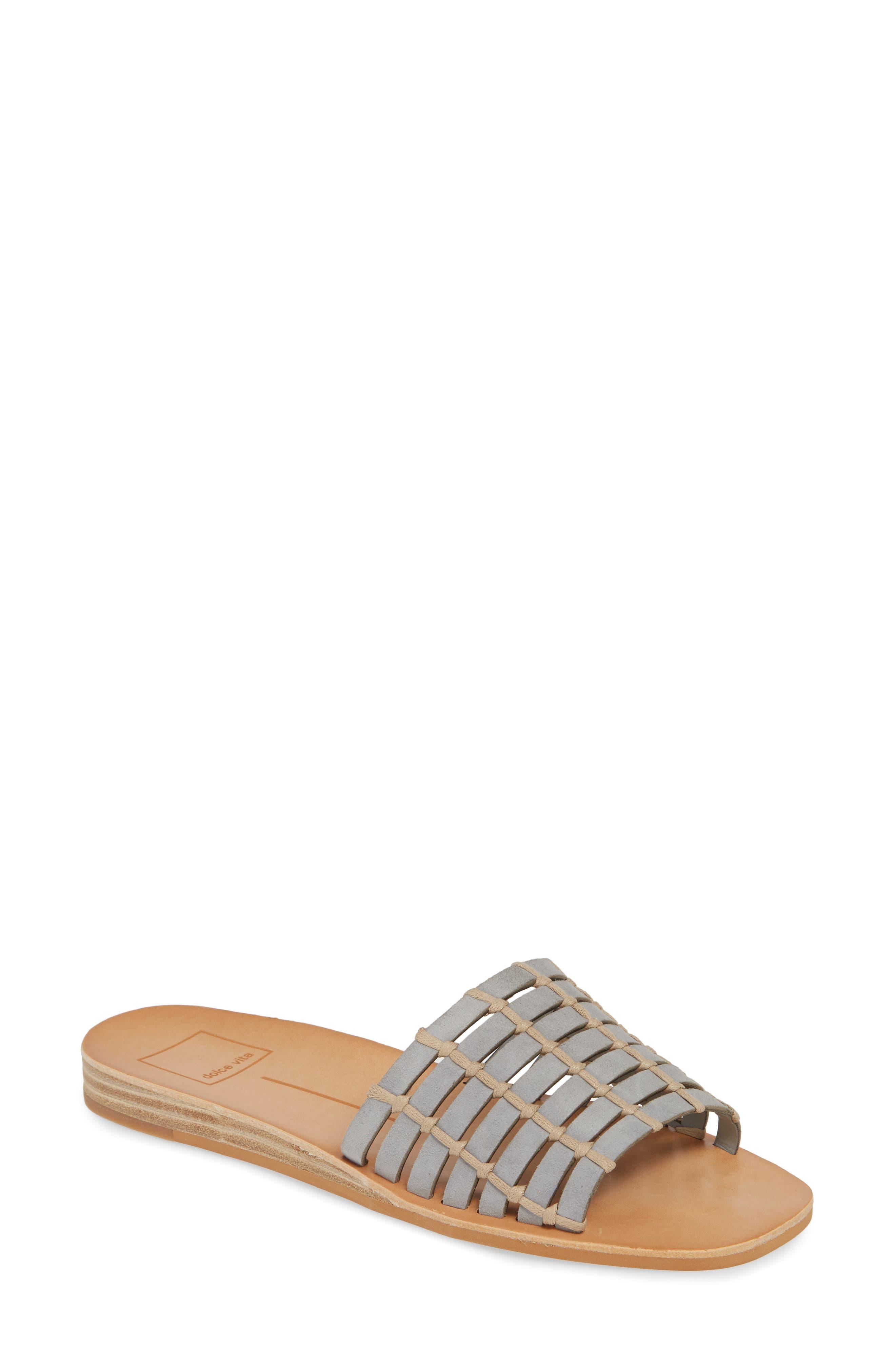 Dolce Vita Colsen Slide Sandal- Grey