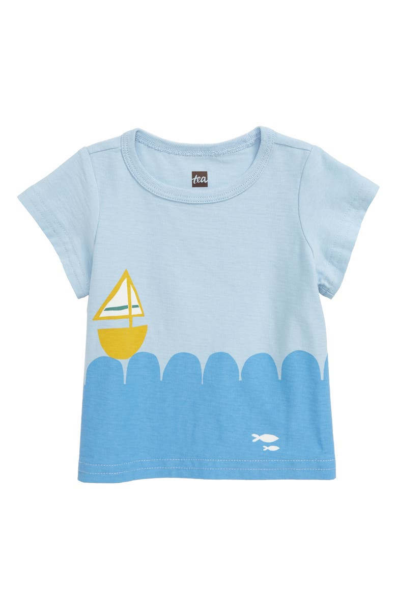 TEA COLLECTION Set Sail Graphic Tee, Main, color, 457