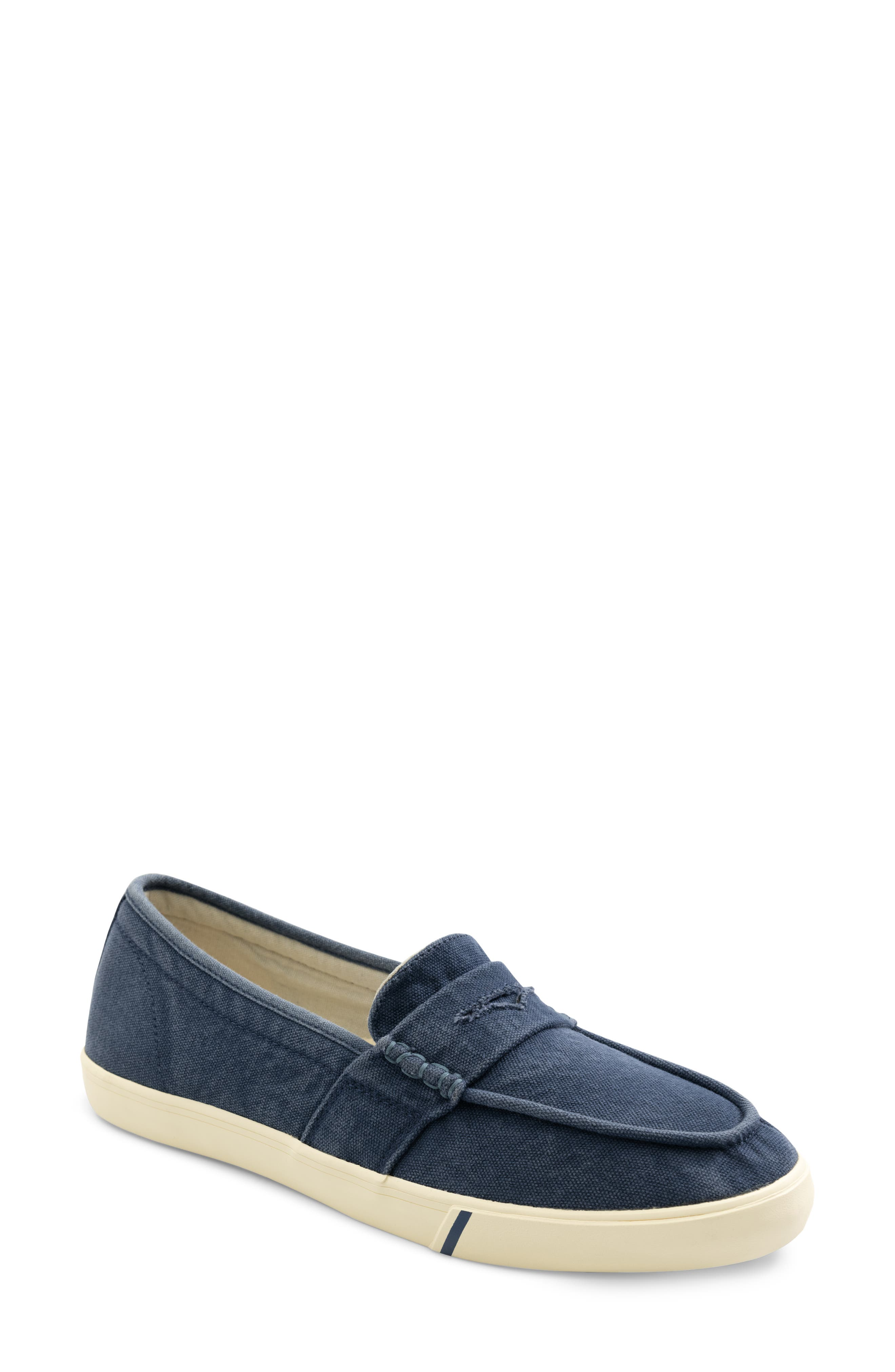 The Canvas Loafer